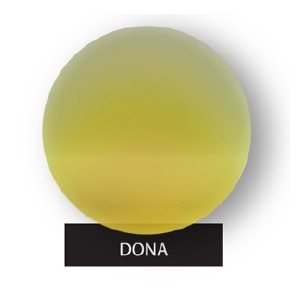 Dona Gold Mirror On Grey