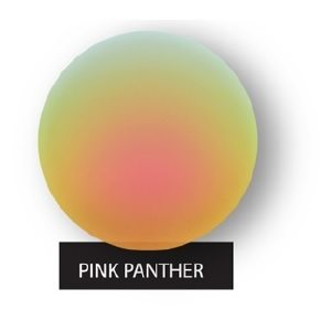 Pink Panther Gold Mirror on Blue