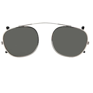 Moscot Lemtosh Clip On - Cliptosh Silver