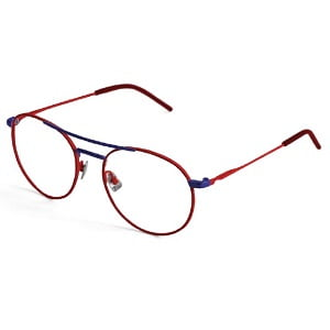 Italia Independent Axel 5306 Red and Blue
