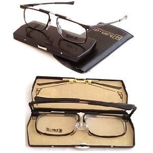 Kandi Slimfold Folding Frames Black 48-20 eyesize