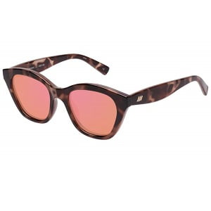 Le Specs Wannabae Tort Coral
