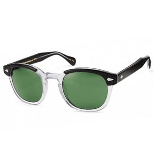 Moscot Lemtosh Black and Crystal