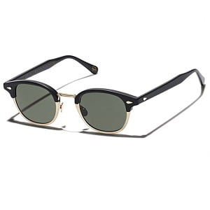 Moscot Lemtosh-Mac Matte Black and Gold