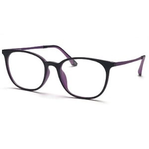Occhio Flexon 1634 Matte Black Inner Purple