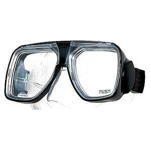 TM 5700 Liberator Plus Diving Mask Black