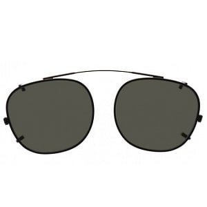 Moscot Lemtosh Clip On - Cliptosh Black
