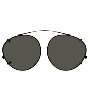 Moscot Miltzen Clip On - Clipzen Black