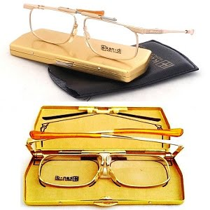 Kandi Slimfold Folding Frames Gold 46-20 eyesize